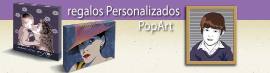 Regalos Personalizados Pop Art