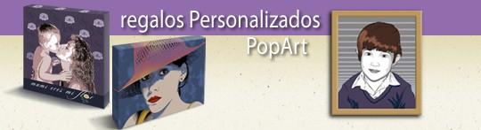 Regalos Personalizados Pop Art
