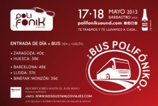 Festival Bus Polifonik Sound 2013 (Barbastro)
