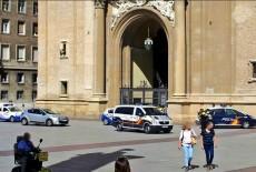 Explosión de un Artefacto Bomba en la Basílica del Pilar