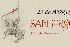 Programación del día de San Jorge 2014 Zaragoza