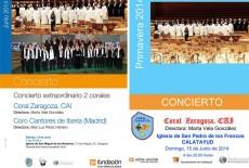 Conciertos de Coral Zaragoza CAI